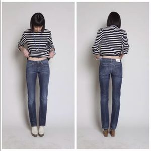 4252 Acne Hex Pure Straight Leg Jeans 32x35